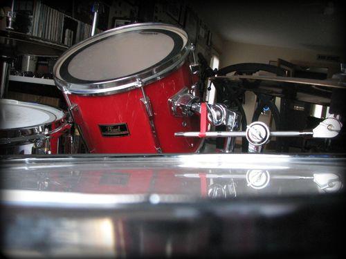 D's drums a