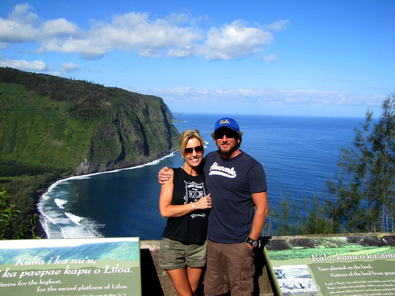 Waipi'o Valley of the Kings viewpoint